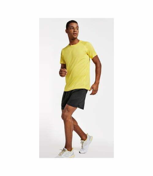Camiseta tecnica personalizada barata manga corta hombre y unisex roly 160425