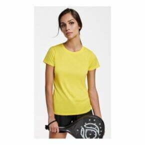 Camisetas de padel personalizadas baratas manga corta mujer roly 160423