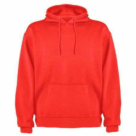 Sudadera infantil capucha color rojo - Capucha 161087