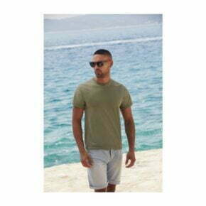 Camiseta personalizada barata – manga corta hombre – 100% algodón