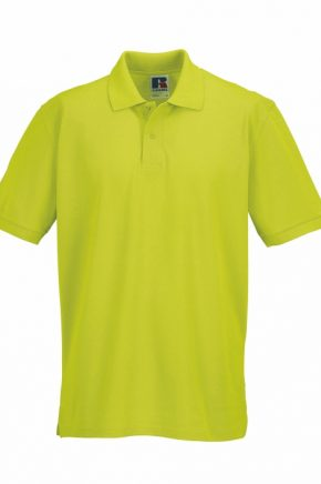 POLO RUSSEL R-539M VERDE LIMA