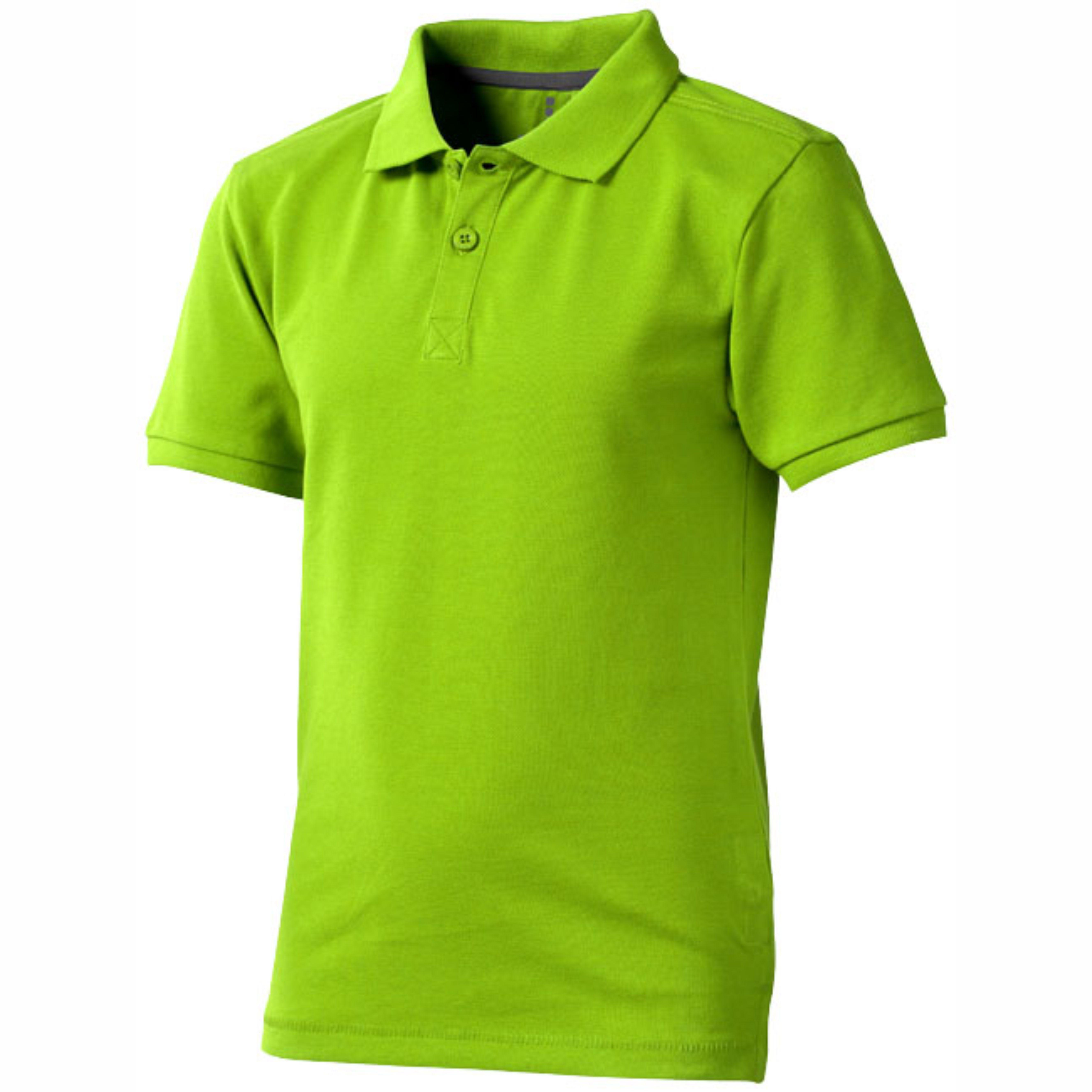 Polo manga corta de niño color verde Elevate 2338082