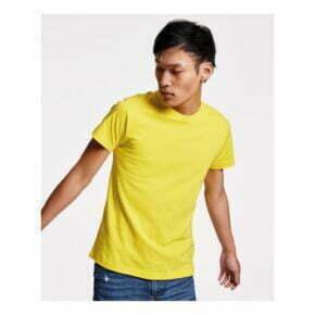 Camiseta personalizada barata manga corta hombre y unisex roly 166502
