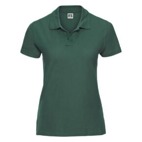 Polo mujer color verde - 577F Russell