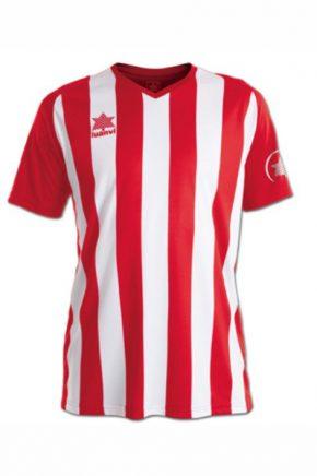camiseta de futbol luanvi listada