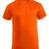 camiseta personalizada barata naranja manga corta hombre 029338 Elevate 100% Poliéster