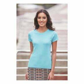 Camisetas personalizadas online baratas manga corta mujer russell r155f
