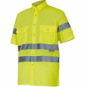 Camisa de Hombre manga corta Alta visibilidad - Serie 141