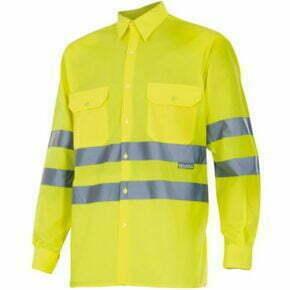 Camisa de Hombre manga larga Alta visibilidad - Serie 143