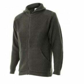 Ropa de trabajo barata chaqueta de punto grueso industria base serie 102 Velilla, Punto canalé. 100% acrílico
