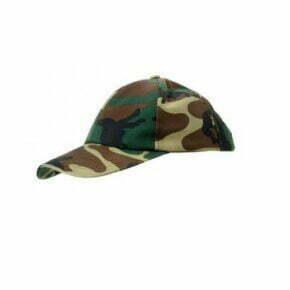 Ropa de trabajo barata gorra de camuflaje industria base Velilla serie Reno, 35% algodón 65% poliéster