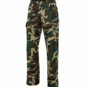 Ropa de trabajo barata pantalón camuflaje industria base Velilla serie 360, 35% algodón 65% poliéster