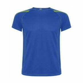 Camiseta poliester roly 0415 color azul