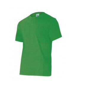 Ropa de trabajo barata camiseta manga corta industria base Velilla Serie 5010, 100% algodón