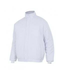 Ropa de trabajo barata cazadora para ambientes fríos industria base alimentación Velilla serie 256002, 35% algodón 65% poliéster