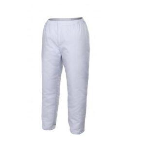 Ropa de trabajo barata pantalón amientes fríos industria base Alimentación Velilla serie 253002, 35% algodón 65% poliéster
