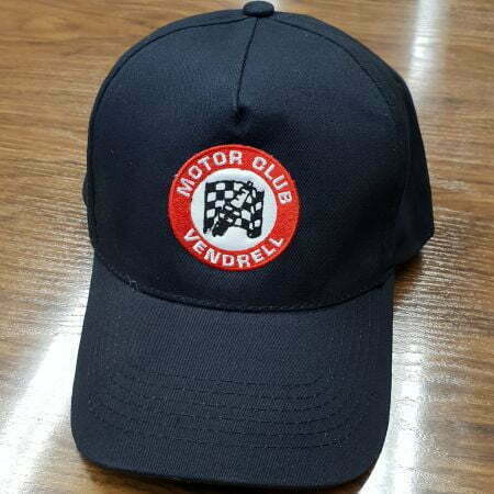 Gorra bordada motor club el vendrel