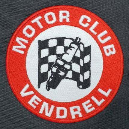 Parche bordado personalizado para motoclub