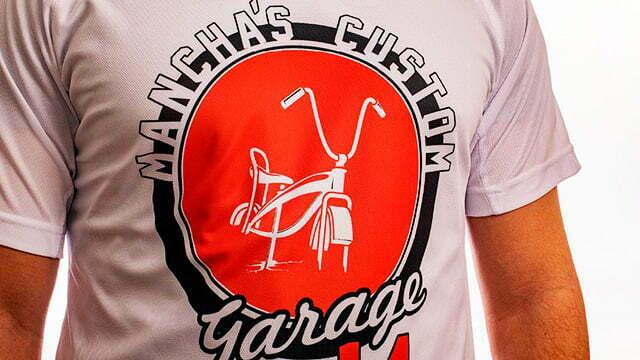 Sublimación en camisetas hombre