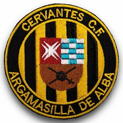 parches bordados personalizados escudo futbol
