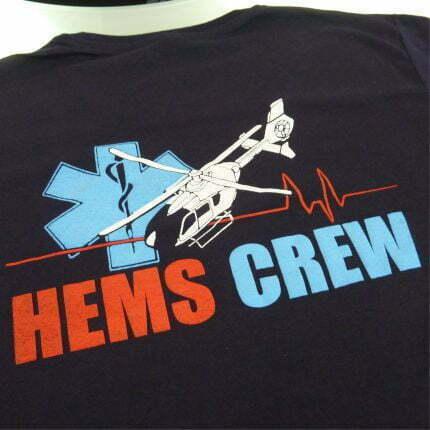 camiseta serigrafía a cuatro colores bf bordados