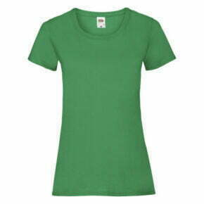 Polo mujer color verde manga corta - 61372 - Fruit of the Loom