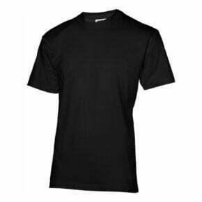 Camiseta manga corta hombre color negro - 2333S06 - Slazenguer