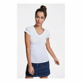 Camisetas personalizadas baratas manga corta mujer roly 166646