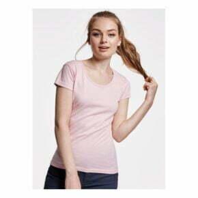 Camisetas personalizadas baratas manga corta mujer roly 166647