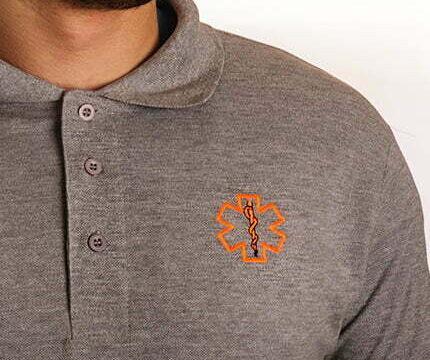 Polo bordado con tu logo