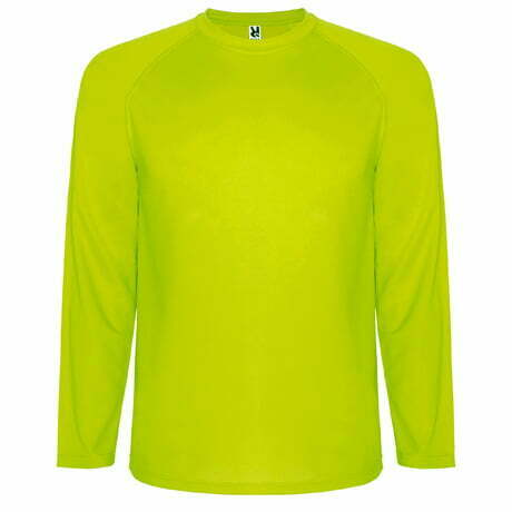 Camiseta infantil manga larga color verde manzana - Montecarlo 160415