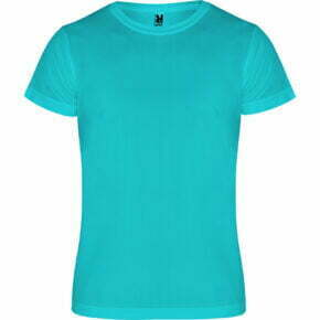 Camiseta infantil manga corta color celeste - Camimera 160450