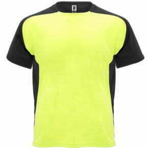 Camiseta infantil manga corta color amarillo y negro - Bugatti 166399