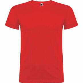 Camiseta adulto Unisex color rojo - Beagle 166554