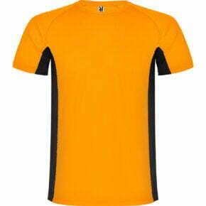 Camiseta infantil manga corta color naranja - Shanghai 166595