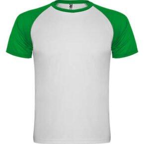 Camiseta infantil manga corta color blanco - Indianápolis 166650