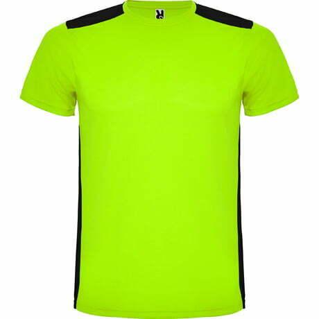 Camiseta infantil manga corta color verde - Detroit 166652