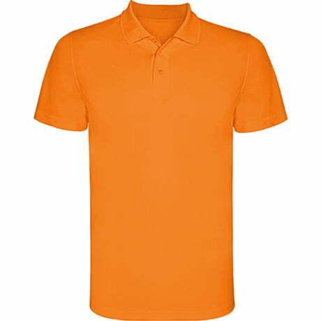 Polo infantil manga corta color naranja - Monzha 160404