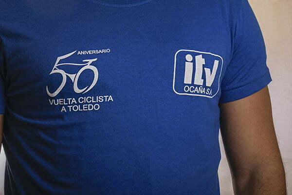 Ropa de trabajo serigrafiada. Camisetas para publicidad
