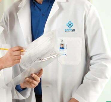 Uniformes sanitarios bordados
