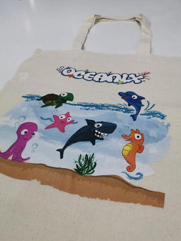 Foto Oceanix. Bolsas de tela personalizadas