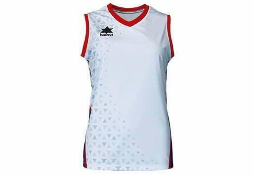 Camiseta mujer voley color blanco - 13768 - Cardiff - Luanvi