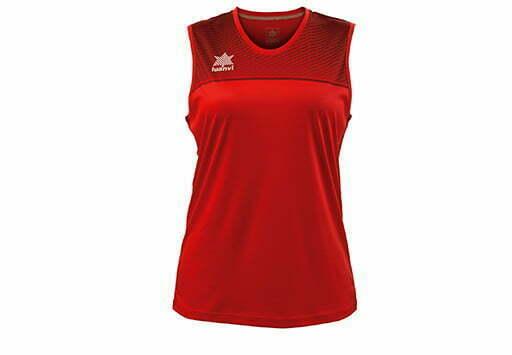 Camiseta baloncesto mujer color rojo - 11375 - Apolo - Luanvi