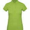 Polo orgánico mujer color verde - B&C- 501.42