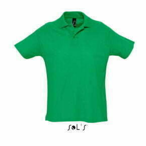 Polo Summer II color verde - 11342 Sol´s