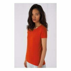 Camiseta orgánica personalizada online barata manga corta mujer b&c 2702442