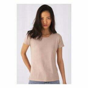 Camiseta orgánica personalizada online barata manga corta mujer b&c 2718942