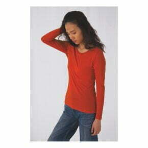 Camiseta personalizada online barata manga larga mujer b&c 2701842