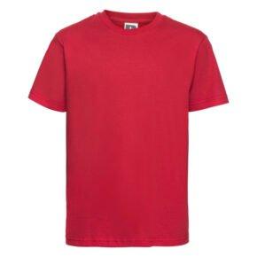 Camiseta infantil manga corta color rojo - 155B - Russell