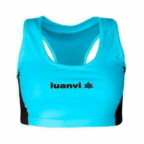 Top atletismo luanvi color azul